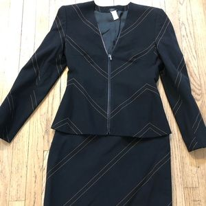 Dresses & Skirts - Vintage Gianni Versace Skirt suit